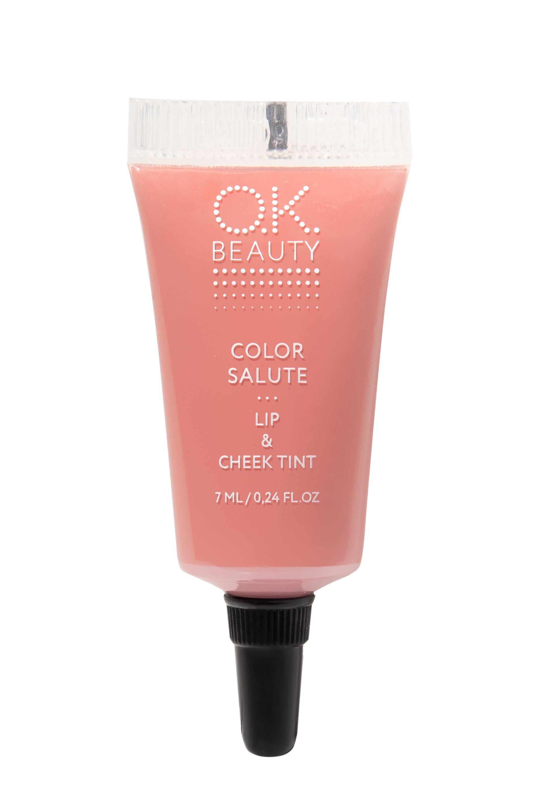 Купить OK BEAUTY Пигмент стойкий для губ и щек, Safari / COLOR SALUTE LIP & CHEEK TINT 7 мл