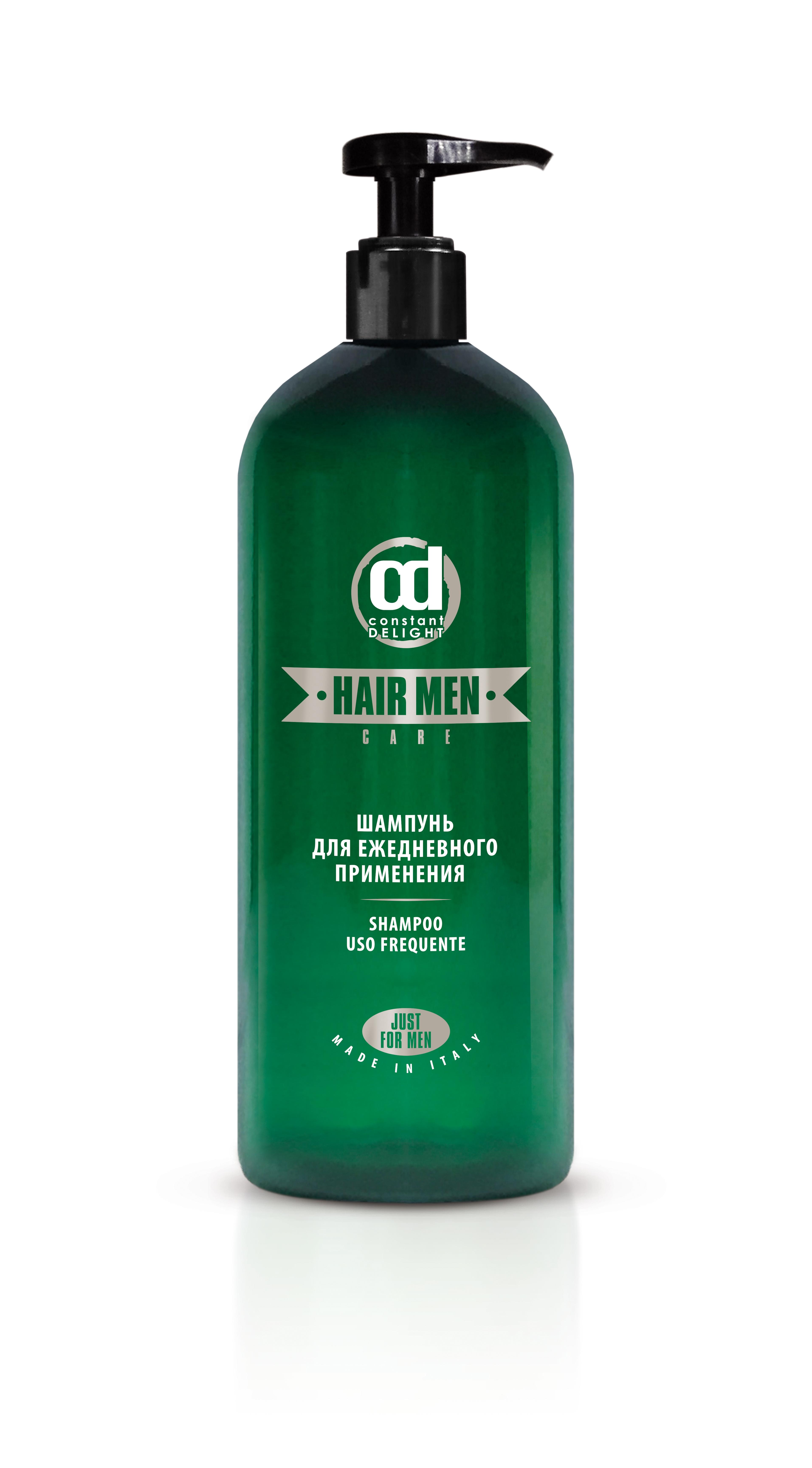 CONSTANT DELIGHT Шампунь для ежедневного применения / BARBER Hair Men 1000 мл constant delight шампунь восстанавливающий для поврежденных и окрашенных волос color care line 1000 мл