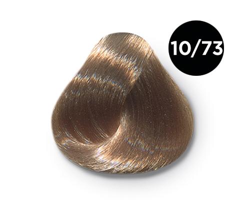 OLLIN PROFESSIONAL 10/73 краска для волос, светлый блондин коричнево-золотистый / OLLIN COLOR 60 мл