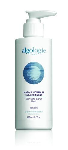 ALGOLOGIE Маска-гоммаж отбеливающая 200мл