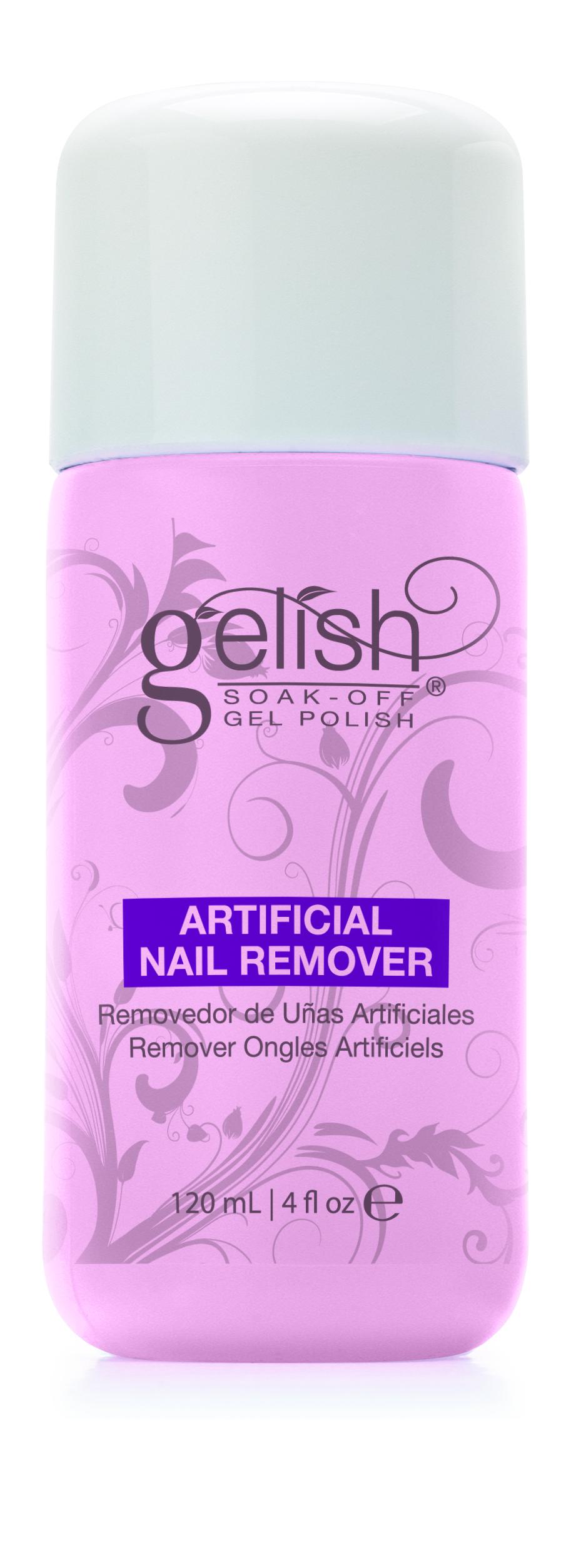GELISH Препарат для удаления растворяемых гелей / GELISH Artificial Nail Remove 120мл