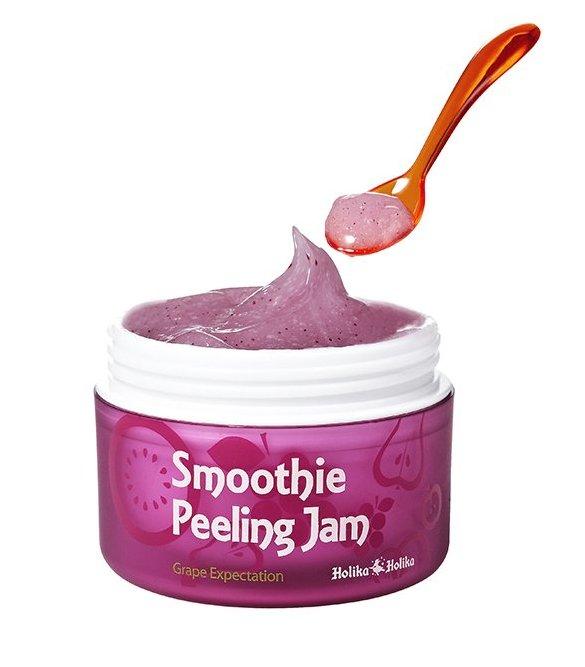 HOLIKA HOLIKA Гель отшелушивающий (виноград) & Смузи Пилинг&  / Smoothie Peeling Jam Grape Expectation 75мл -  Гели