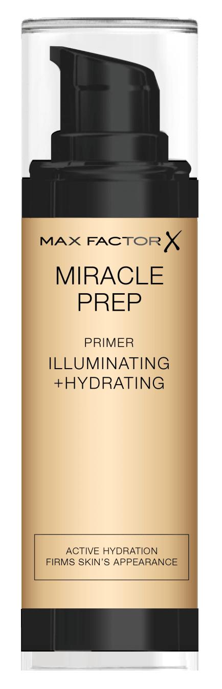 Купить MAX FACTOR Праймер прозрачный для лица / Miracle Illuminating + hydrating 30 мл