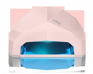 RuNail Прибор LED/UV излучения 24 Вт, светло-розовый