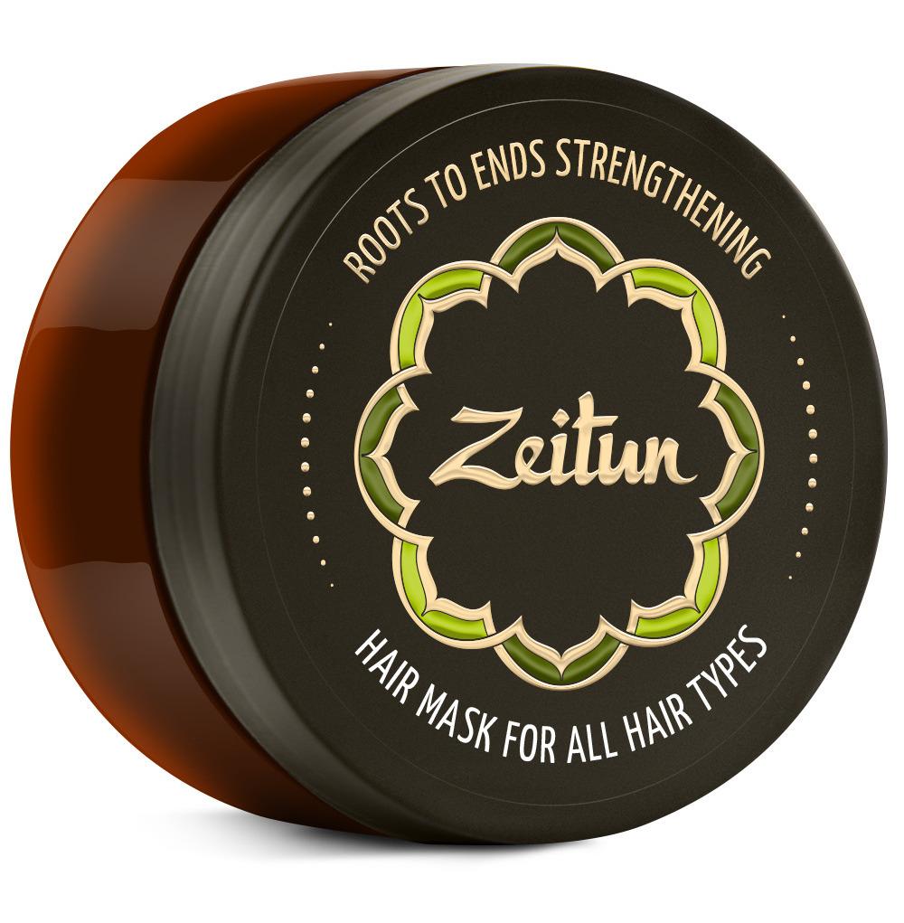 ZEITUN Маска для всех типов волос Укрепление по всей длине 200 мл