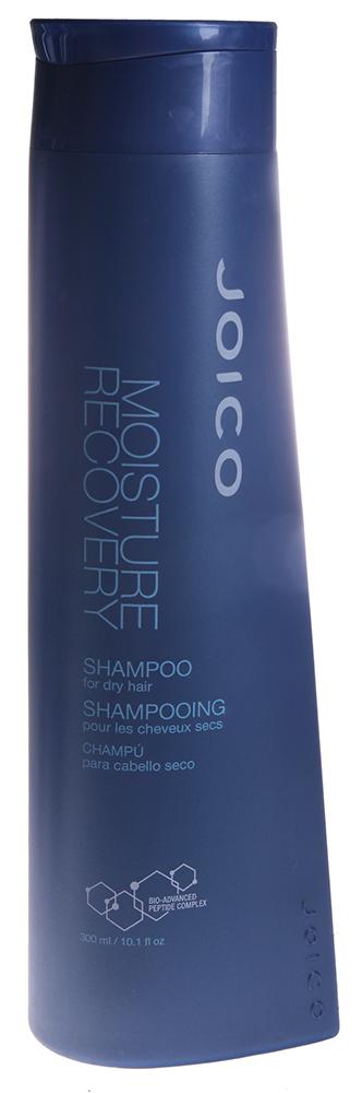 JOICO Шампунь для сухих волос / MOISTURE RECOVERY 300млШампуни<br>Восстанавливает уровень влаги в волосах. Обеспечивает интенсивное увлажнение, предотвращает обезвоживание. рН 4,5-5,5. Первый шаг в оживлении сухих волос. Делает волосы увлажненными, гладкими, управляемыми и более эластичными. Способ применения: Нанести небольшое количество Шампуня по всей длине влажных волос. Вспенить. Смыть. При необходимости повторить.<br><br>Типы волос: Сухие