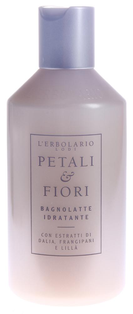 LERBOLARIO Молочко для тела моющее с увлажняющим эффектом Лепестки и цветы 250 мл