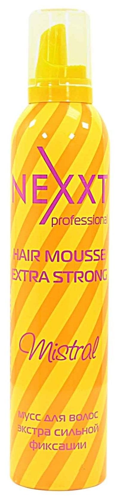 NEXXT professional Мусс экстра сильной фиксации для волос / Stylig Mouse Extra Strong Mistral 200 мл