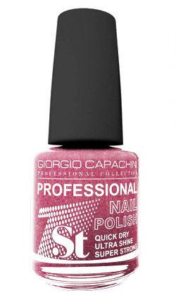 Купить GIORGIO CAPACHINI 47 лак для ногтей, винная ягода / 1-st Professional 16 мл, Розовые