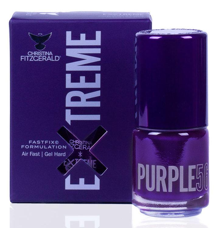 Купить CHRISTINA FITZGERALD Лак для ногтей 56 / PURPLE EXTREME 15 мл, Фиолетовые