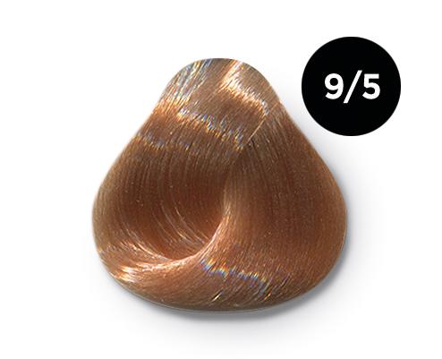 OLLIN PROFESSIONAL 9/5 краска для волос, блондин махагоновый / OLLIN COLOR 60 мл