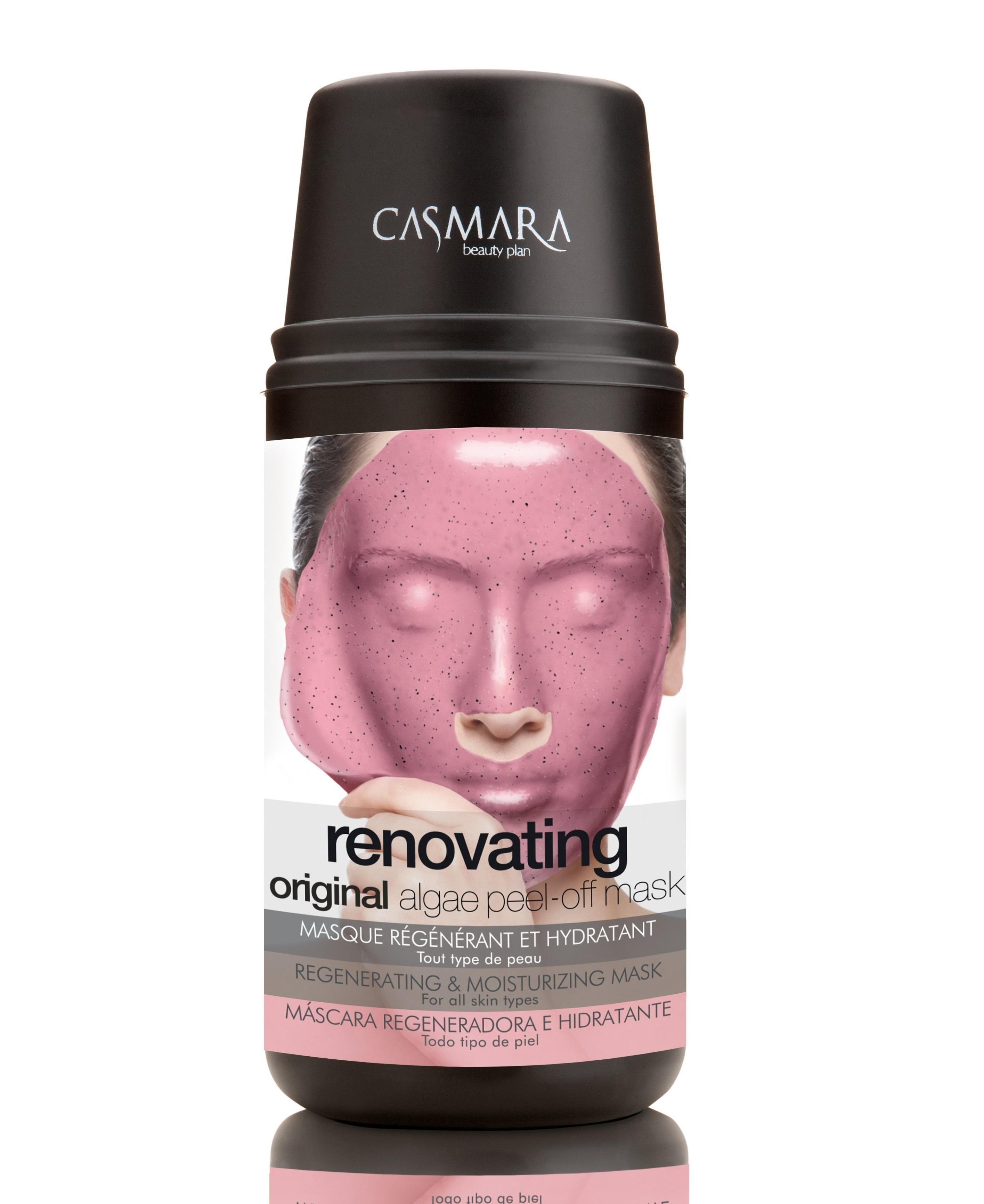 CASMARA Набор Бьюти для лица Обновление (регенерирующая и увлажняющая маска 1 шт, регенерирующий крем для лица 4 мл) - Наборы