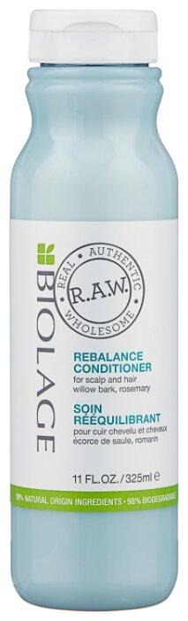 BIOLAGE Кондиционер с экстрактом коры ивы и розмарина для восстановления баланса кожи головы / BIOLAGE R.A.W. 325 мл.