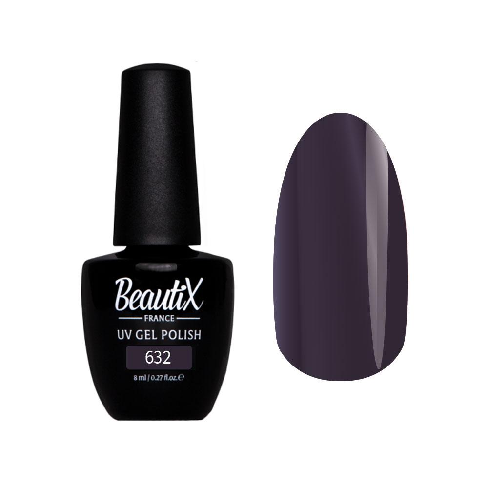 Купить BEAUTIX 632 гель-лак для ногтей 8 мл, Фиолетовые