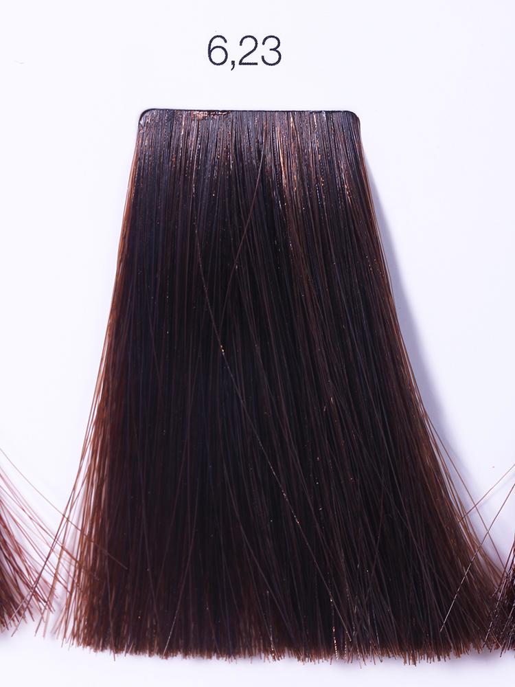 LOREAL PROFESSIONNEL 6.23 краска для волос / ИНОА ODS2 60грКраски<br>INOA - первый краситель, позволяющий достичь желаемых результатов окрашивания, окрашивать тон в тон, осветлять волосы на 3 тона, идеально закрашивает седину и при этом не повреждает структуру волос, поскольку не содержит аммиака. Получить стойкие, насыщенные цвета позволяет инновационная технология Oil Delivery System (ODS) система доставки красителя при помощи масла. Благодаря удивительному действию системы ODS при нанесении, смесь, обволакивая волос, как льющееся масло, проникает внутрь ткани волос, чтобы создать безупречный цвет. Уникальность системы ODS состоит также в ее умении обогащать структуру волоса активными защитными элементами, который предотвращает повреждения и потерю цвета.  После использования красителя окислением без аммиака Inoa 4.20 от LOreal Professionnel волосы приобретают однородный насыщенный цвет, выглядят идеально гладкими, блестящими и шелковистыми, как будто Вы сделали окрашивание и ламинирование за одну процедуру.  Способ применения: Приготовьте смесь из красителя Inoa ODS 2 и Оксидента Inoa ODS 2 в пропорции 1:1. Нанесите смесь на сухие или влажные волосы от корней к кончикам. Не добавляйте воду в смесь! Подержите краску на волосах 30 минут. Затем тщательно промойте волосы до получения чистой, неокрашенной воды.<br><br>Цвет: Блонд<br>Типы волос: Для всех типов