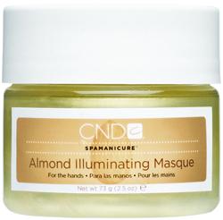 CND Маска сверкающая / Illuminating Masque ALMOND SPA MANICURE 73грМаски<br>Средство для глубокого кондиционирования кожи и придания ей здорового блеска. Масло сладкого миндаля, масло жожоба и витамин Е производят глубокое увлажнение кожи. Косметические минеральные масла, входящие в ее состав, защищают кожу от потери влаги и способствуют глубокому проникновению других веществ. Активные компоненты: Масло сладкого миндаля; Масло жожоба; Витамин Е. Способ применения: Как самостоятельное средство, либо в процедуре миндальный спа маникюр.<br><br>Объем: 73