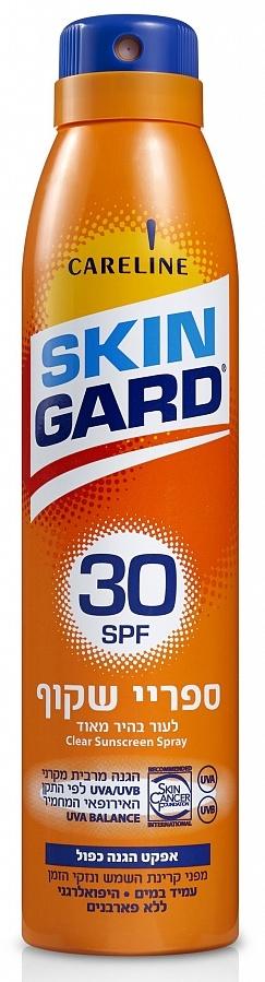 SKIN GARD Спрей солнцезащитный прозрачный для тела SPF 30 200 мл