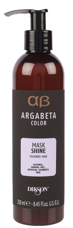 Купить DIKSON Маска с маслами черной смородины, виноградных косточек и сладкого миндаля для окрашенных волос / ARGABETA Mask SHINE 250 мл