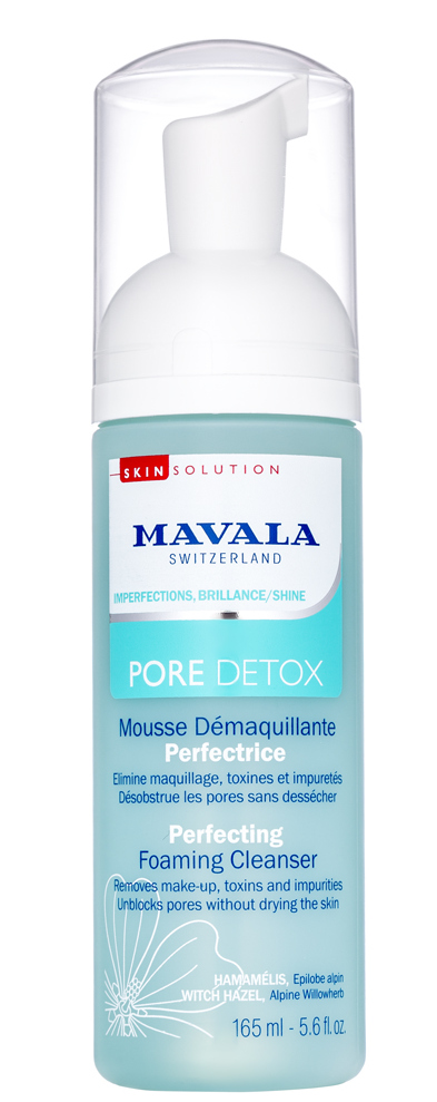 MAVALA Пенка очищающая / Pore Detox Perfecting Foaming Cleanser 165 мл