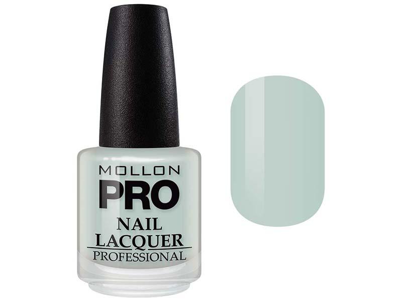 MOLLON PRO Лак для ногтей с закрепителем / Hardening Nail Lacquer  210 15млЛаки<br>Профессиональный лак для ногтей с усиленным блеском.&amp;nbsp;Яркий, соблазнительный и удобный в применении лак, созданный по безопасной формуле Save and Care, не содержит дибутилфталата, толуола, формальдегида и надолго сохраняет эстетический вид.&amp;nbsp;Входящая в состав лака специальная формула с содержанием кальция, фосфора и цинка оказывает восстанавливающую, ухаживающую и защитную функцию для ногтей. Профессиональная кисточка великолепно распределяет лак на ногтевой пластинке, не оставляя разводов. Способ применения: чтобы продлить стойкость стилизации, необходимо применить Base Coat Nail Repair перед нанесением лака, затем 2 слоя Nail Lacquer и Top Coat Quick Dryer.<br><br>Цвет: Зеленые