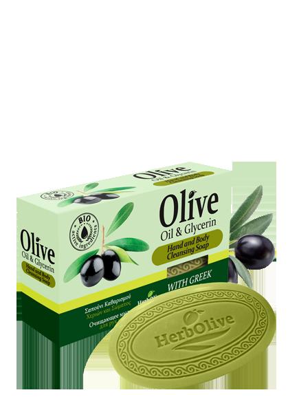 MADIS Мыло оливковое с глицерином / HerbOlive 90 гр