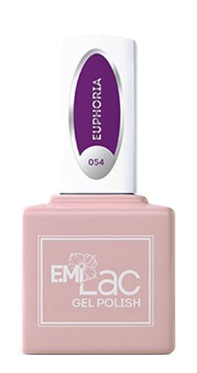 Купить E.MI 054 NEON гель-лак для ногтей, Эйфория / E.MiLac 6 мл, Фиолетовые