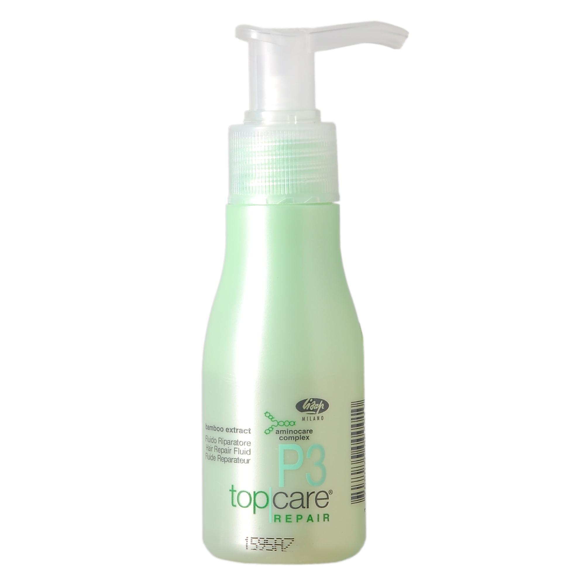 LISAP MILANO Флюид восстанавливающий шелковый для защиты волокон чувствительных волос / TOP CARE REPAIR 50мл