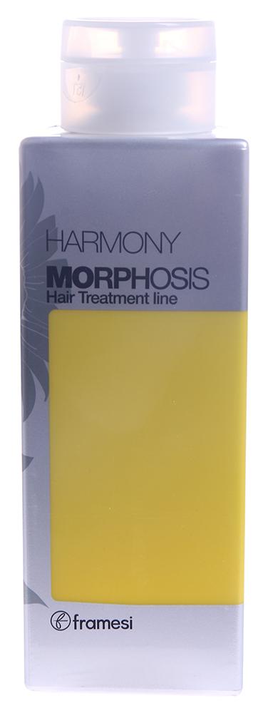FRAMESI Шампунь для сухих, пористых и поврежденных волос / Harmony MORPHOSIS POWER 250млШампуни<br>Шампунь очищает, придает волосам силу, смягчает и защищает их от пересушивания, оказывает анти-эйдж эффект. Активные ингредиенты: полиненасыщенные жирные кислоты омега-6, полученные из семян подсолнечника. Способ применения: нанесите на влажные волосы, вспеньте, затем тщательно смойте.<br>