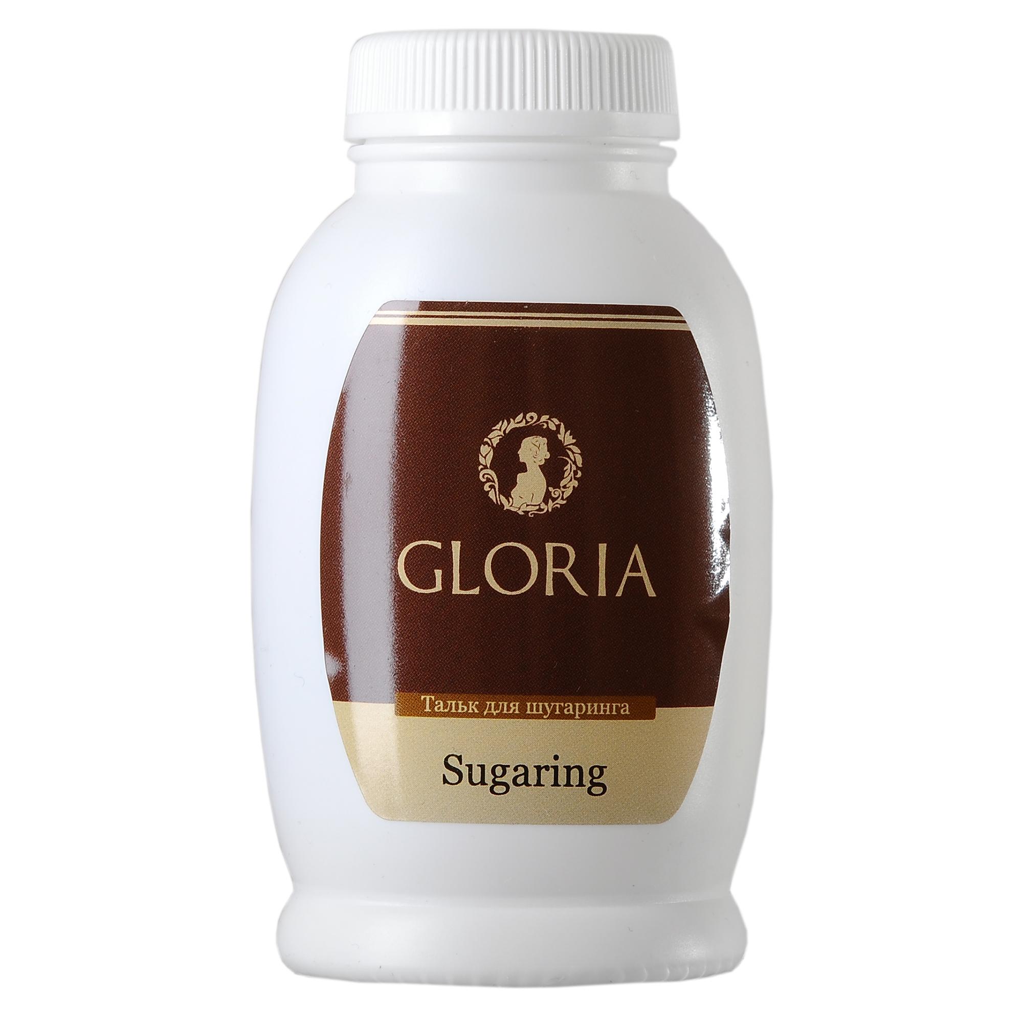 GLORIA Тальк для шугаринга Gloria 90 грТальки<br>Тальк для шугаринга незаменим во время проведения процедуры. Он позволяет убрать излишек влаги, а также приподнимает волоски, что позволяет провести процедуру депиляции сахарной пастой быстрее и комфортнее. Активные ингредиенты: оксид цинка, тальк. Способ применения: нанесите тонким слоем на участок кожи, с которого планируете удалять волосы. Количество процедур: 60<br><br>Объем: 90 гр