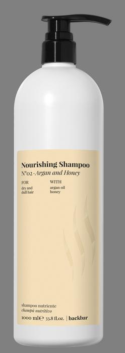 FARMAVITA Шампунь питательный для сухих волос / BACK BAR NOURISING SHAMPOO №02 1000 мл