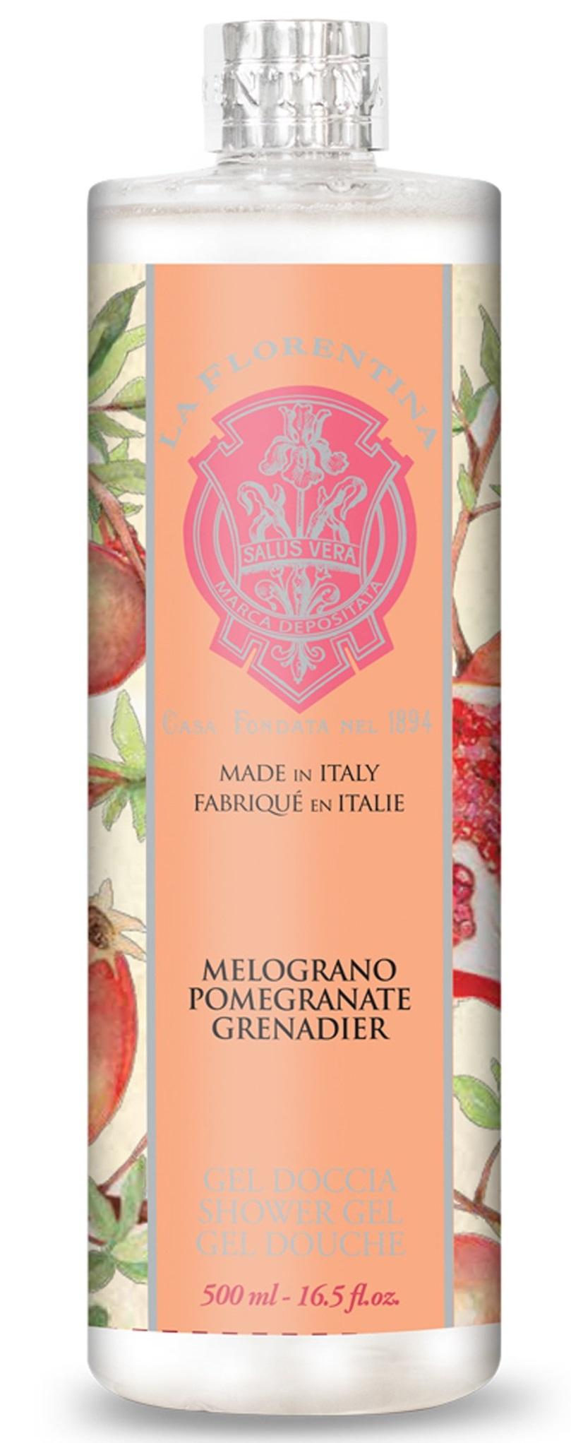 Купить LA FLORENTINA Пена для ванны Гранат / Pomegranate 500 мл
