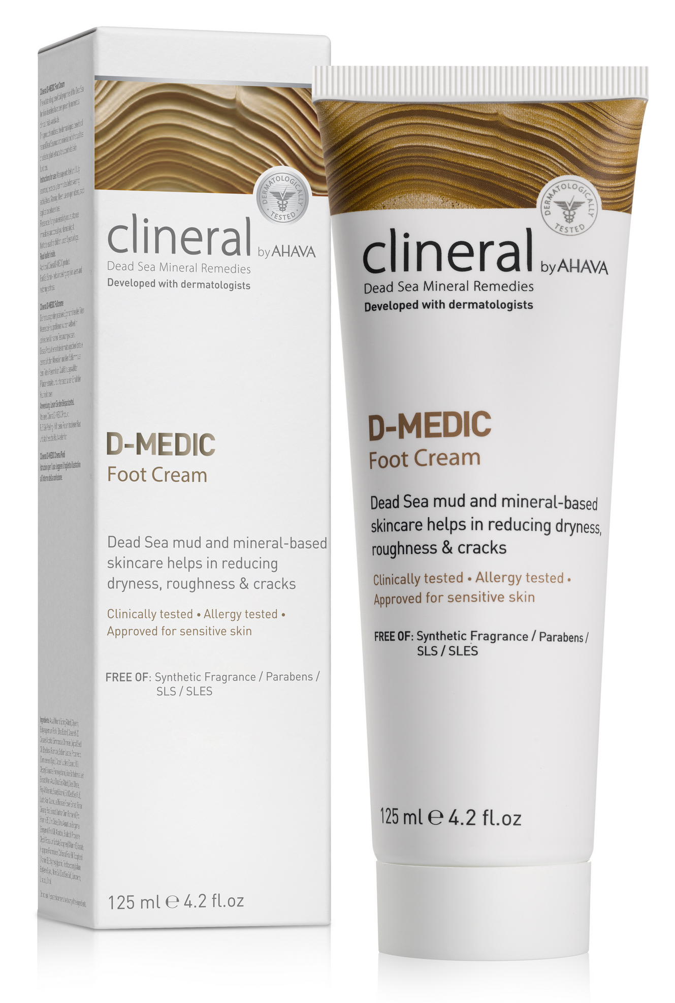 Купить AHAVA Крем для ступней / Clineral D-medic 125 мл