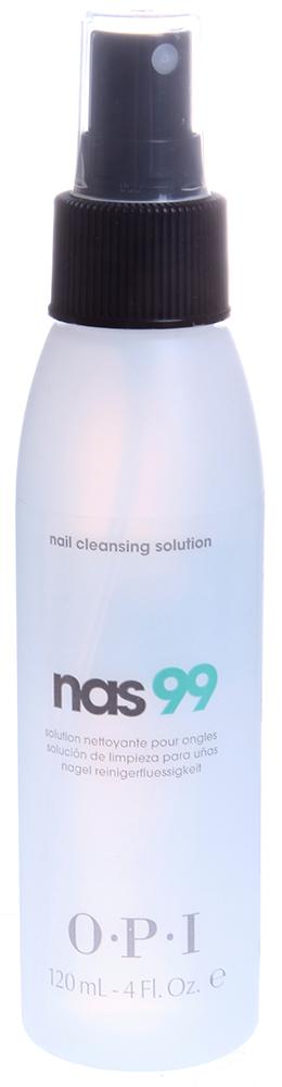 OPI Жидкость дезинфицирующая для ногтей / N.A.S.99 120млНаращивание<br>Обязательно использовать для дезинфекции и обезжиривания ногтей, инструментов в процедурах маникюра/педикюра и моделирования искусственных ногтей. Содержит Тимол, предотвращающий развитие грибков и бактерий. Не содержит воды и удаляет излишки влаги и масла с поверхности ногтевой пластины. Способ применения: Наносить препарат на ногти и инструменты с расстояния примерно в 15 см. Не допускать попадания препарата на типсы. Использовать как дезинфектор при любых процедурах. Беречь от нагрева и открытого огня. Плотно закрывать после использования.<br><br>Объем: 120