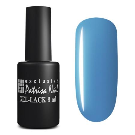 Купить PATRISA NAIL 164 гель-лак для ногтей, синяя тональность / Axios Gel 8 мл, Синие