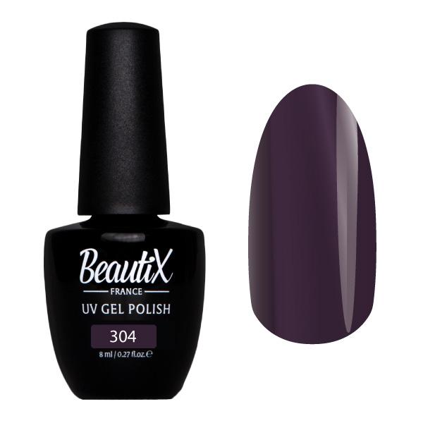 Купить BEAUTIX 304 гель-лак для ногтей 8 мл, Фиолетовые