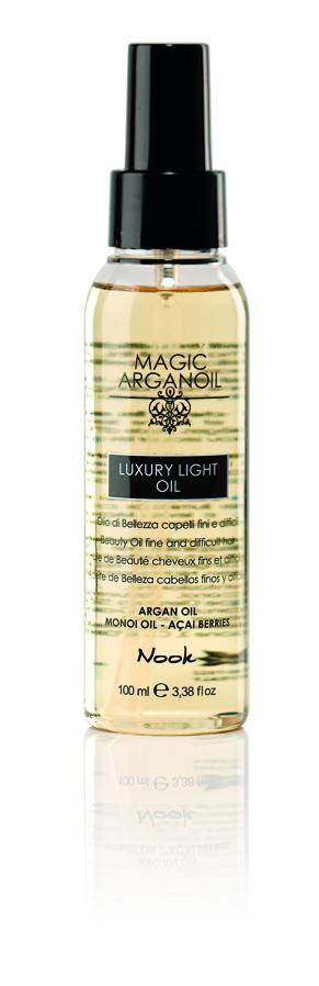 NOOK Масло-люкс для тонких и непослушных волос Магия Арганы / Luxury Light Oil MAGIC ARGANOIL 100 мл