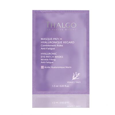 THALGO Маски-патч гиалуроновые для кожи вокруг глаз / HYALURONIC EYE PATCH MASKS 1 шт - Патчи