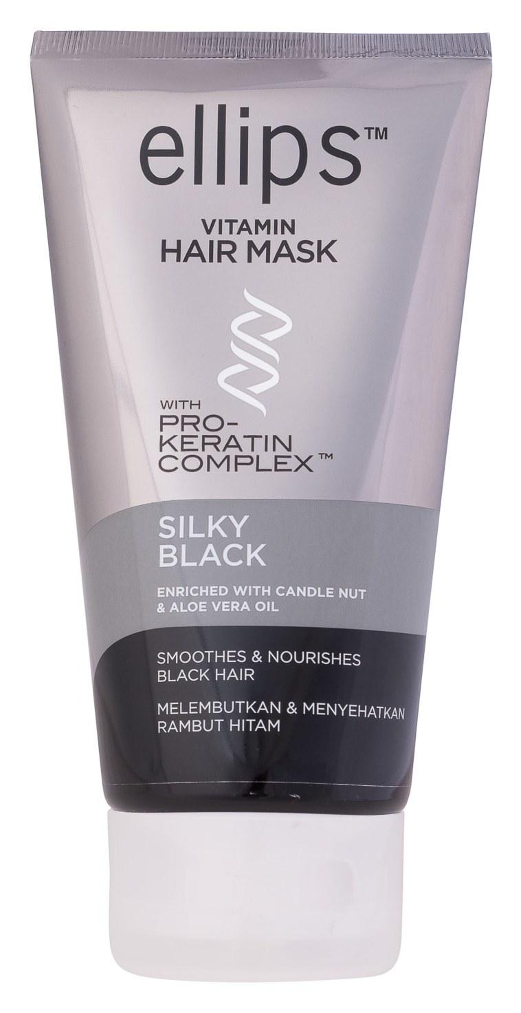 Купить ELLIPS Маска с кератиновым комплексом для темных волос / Pro-Keratin Silky Black 120 г