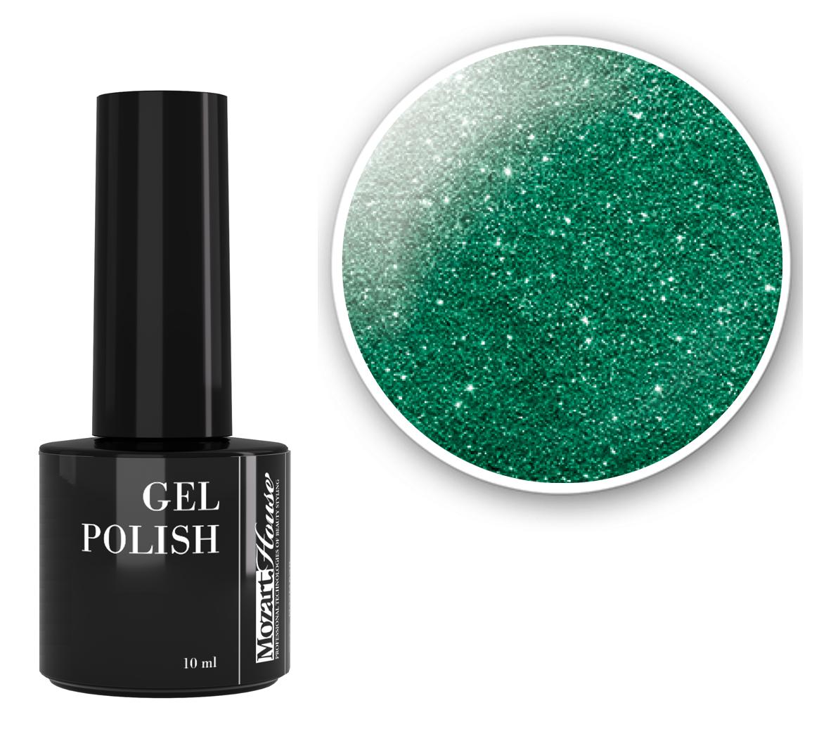 Купить со скидкой MOZART HOUSE 01762 гель-лак для ногтей / Emerald GEL POLISH 10 мл
