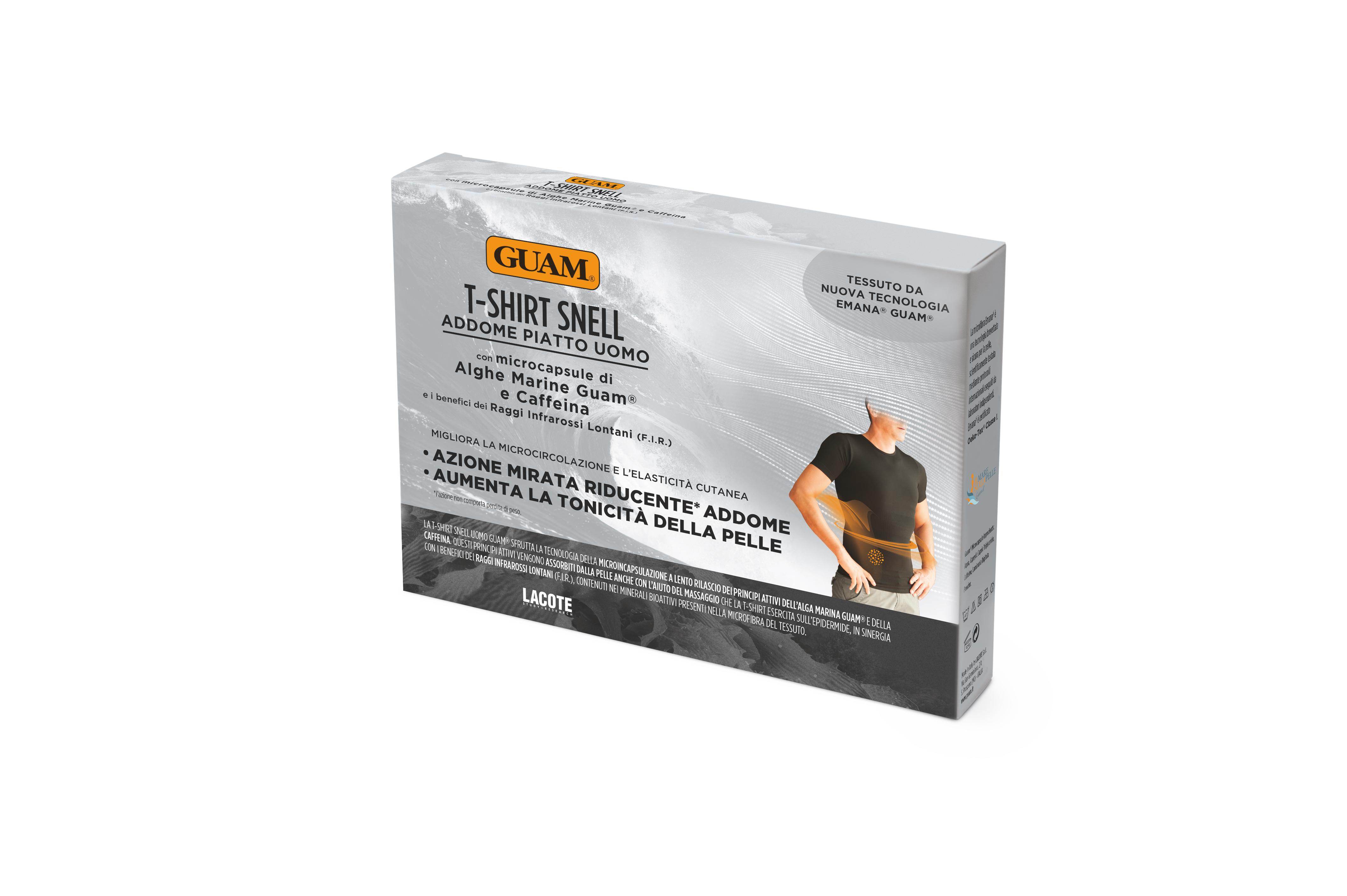 GUAM Футболка для мужчин с моделирующим эффектом GUAM, L/XL (50-52)