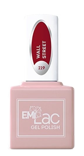 E.MI 219 HP гель-лак для ногтей, Уолл Стрит / E.MiLac 6 мл