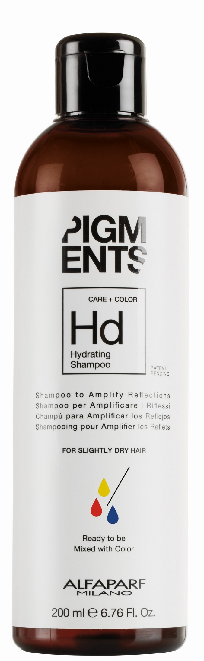 Купить ALFAPARF MILANO Шампунь увлажняющий для слегка сухих волос / PIGMENTS Hydrating shampoo 200 мл