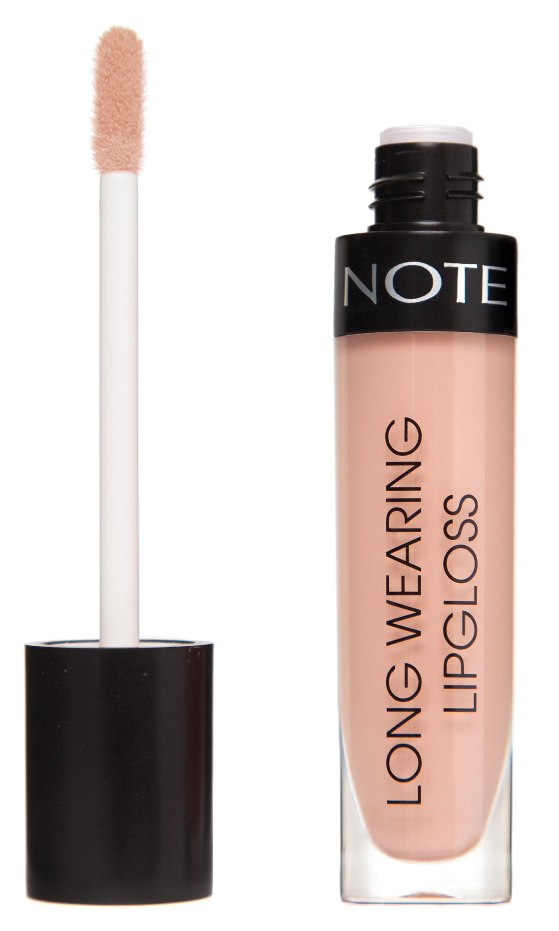 Купить NOTE Cosmetics Блеск стойкий для губ 01 / LONG WEARING LIPGLOSS 6 мл