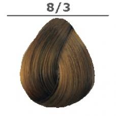 LONDA PROFESSIONAL 8/3 краска для волос (интенсивное тонирование), светлый блонд золотистый / LC NEW 60мл londa интенсивное тонирование 42 оттенка 60 мл londacolor интенсивное тонирование 7 43 блонд медно золотистый 60 мл 60 мл