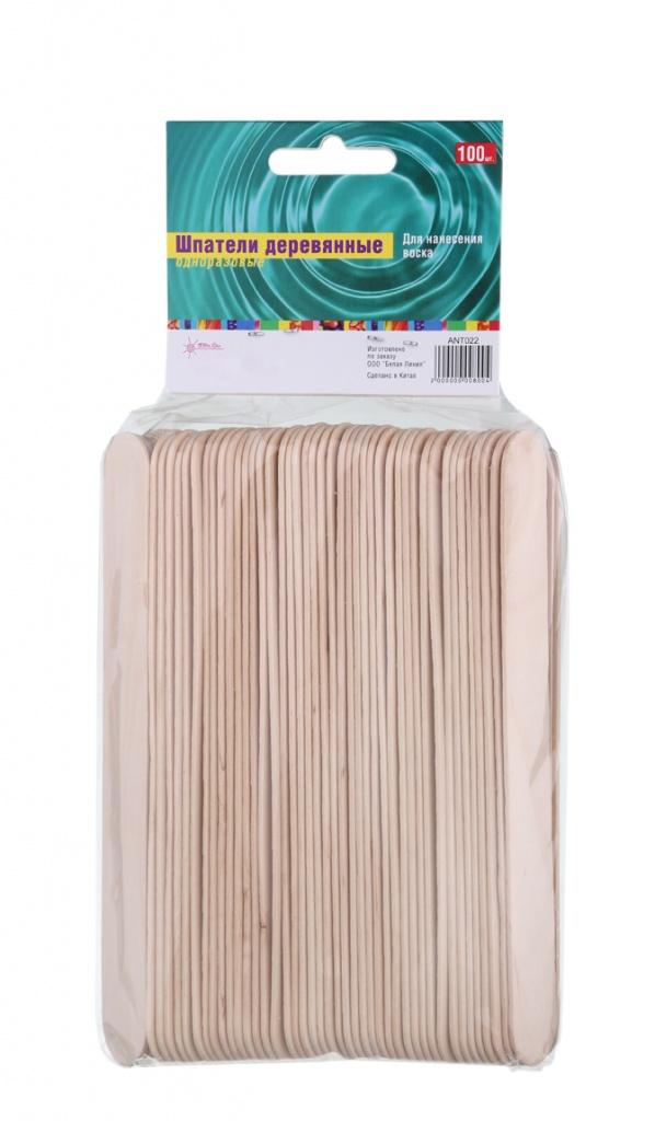GLORIA Шпатели деревянные 100 шт купить шугаринг пасту в интернет магазине