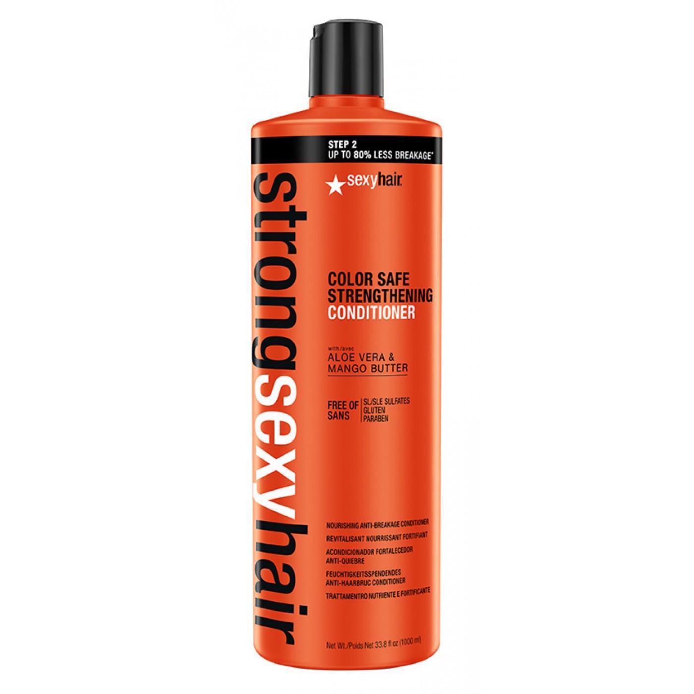 SEXY HAIR Кондиционер для прочности волос / Strong Strengthening Conditioner 1000 мл - Кондиционеры