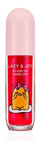 "HOLIKA HOLIKA Тинт гелевый для губ PK03 (ярко-розовый) ""Гудетама лэйзи энд Джой Олл Найт"" / Gudetama LAZY&JOY all night tint preppy pink 5мл"