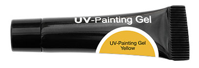 CND Гель-краска УФ / OH UV-Painting Gel Yellow 5мл хондроитин 5% 30г гель