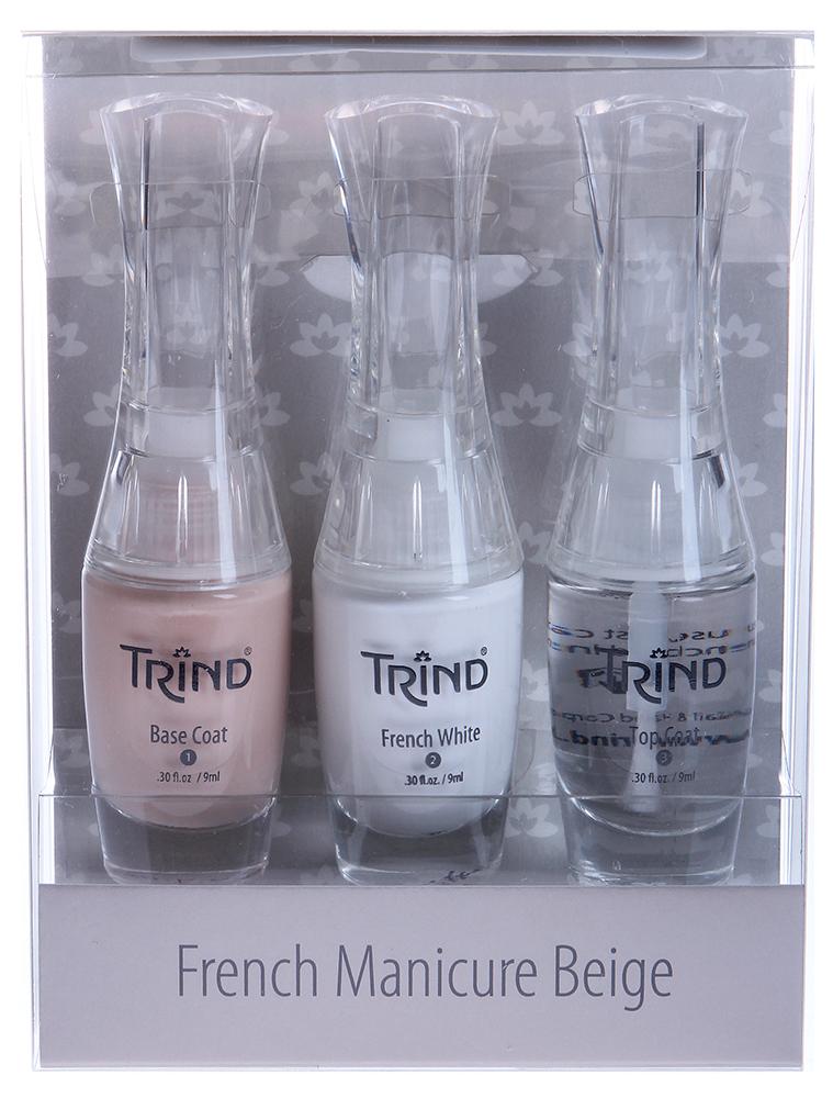 TRIND ����� ��� ������������ �������� ������� / French Manicure Set Beige