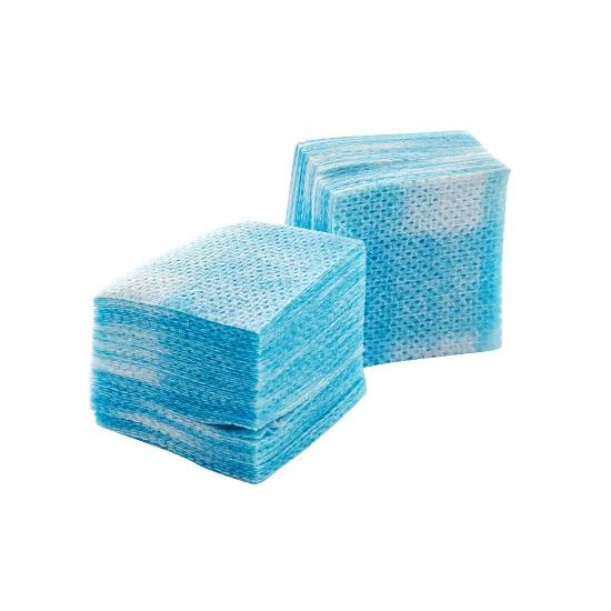 Купить IRISK PROFESSIONAL Салфетки безворсовые 4 х 4 см, 03 голубые 750 шт